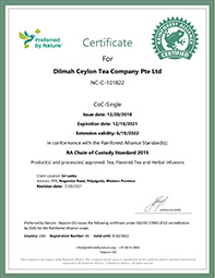 Rainforest Alliance's accreditation for ISO/IEC 17065:2012 by the IOAS
