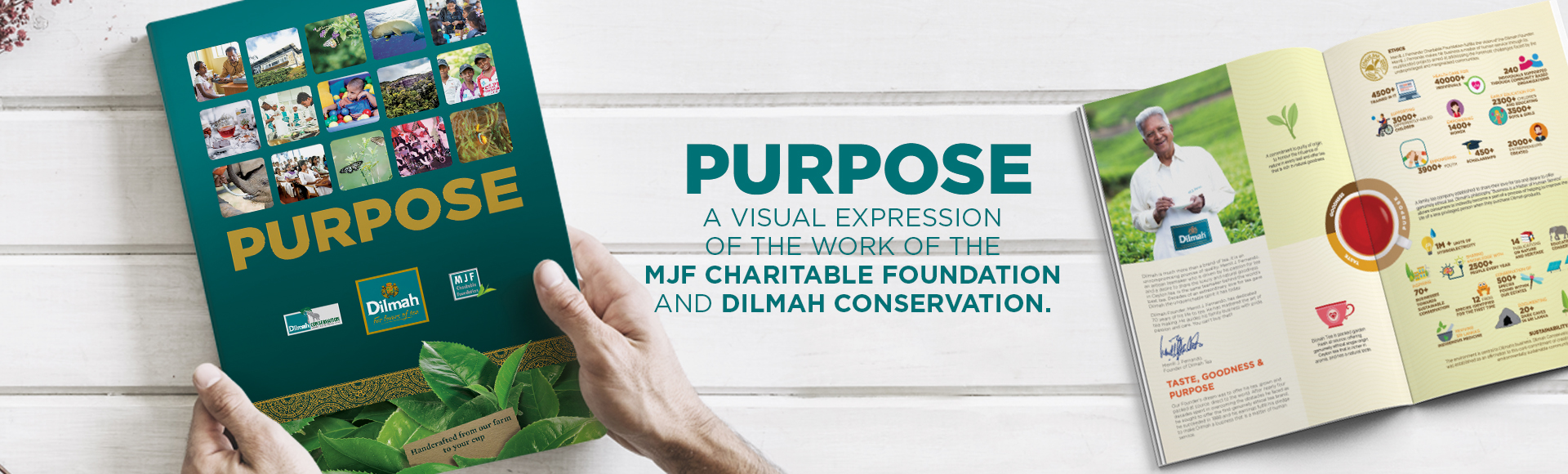 Dilmah Purpose book