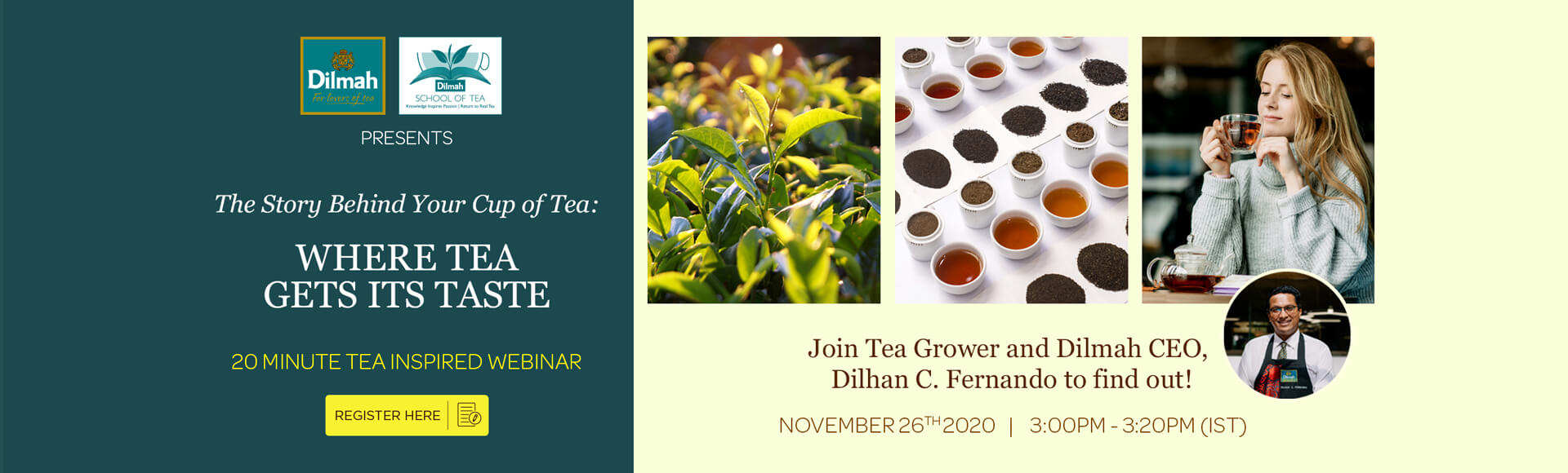 Tea Inspired Webinar